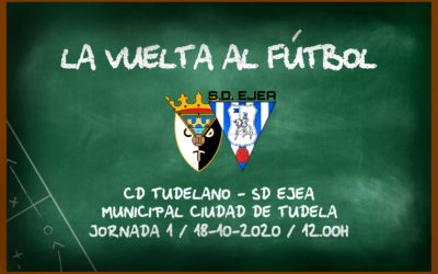 CD Tudelano – SD Ejea: arranca la liga 2020/2021